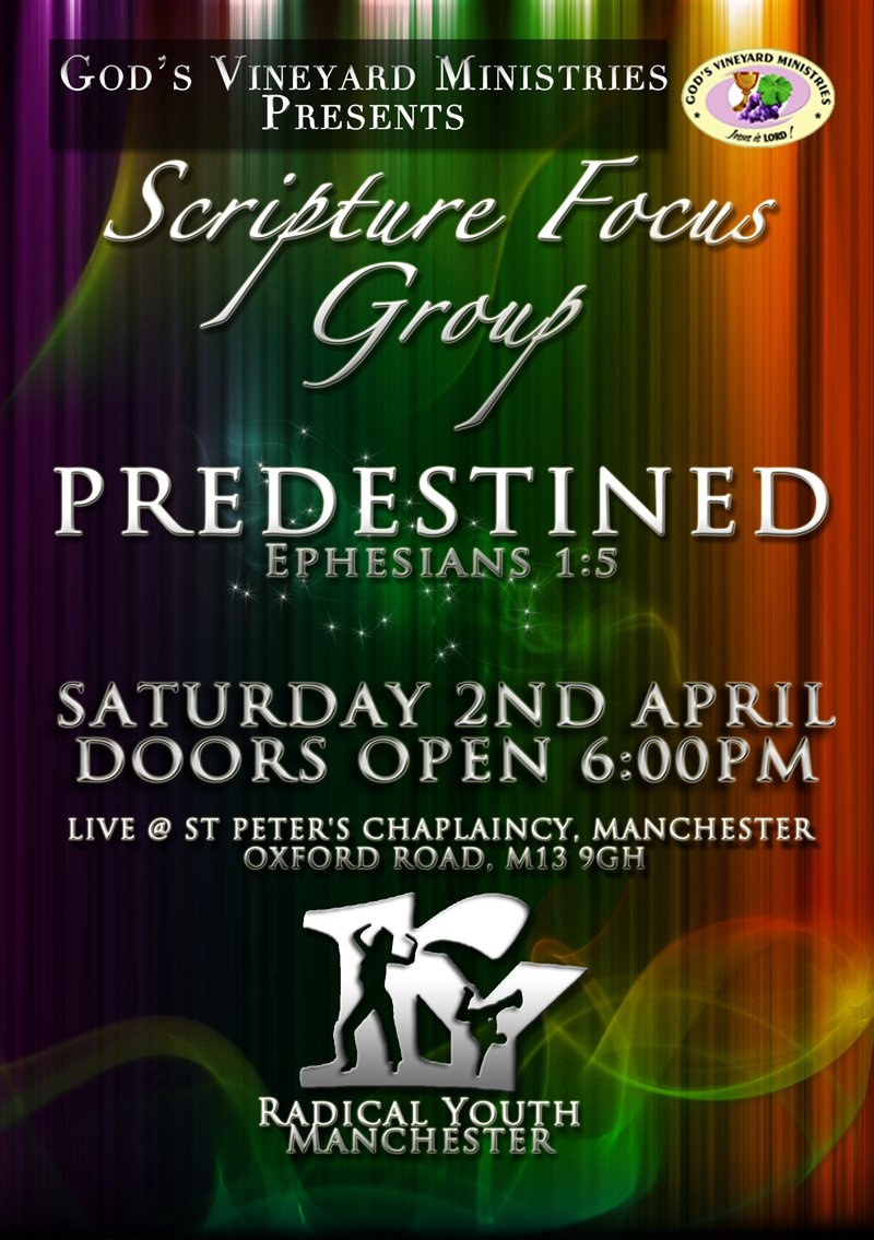Radical Youth Manchester: Predestined Flyer