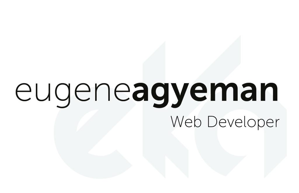 Eugene Agyeman Branding